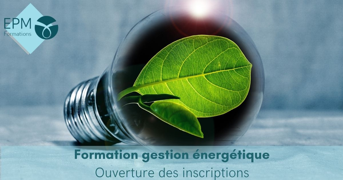 Formation gestion énergie